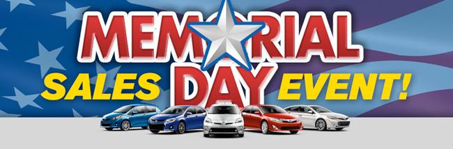 Passport Toyota Memorial Day Sales Event Passport Toyota Blog