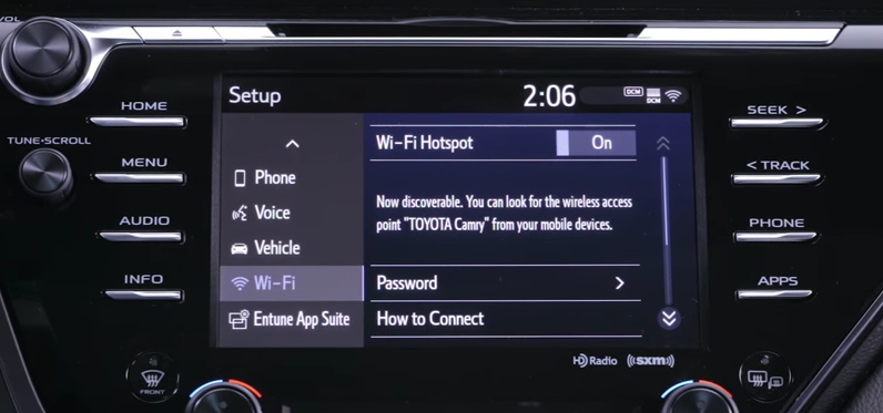 Understanding Wi-Fi Connect with Entune 3 0 in your Toyota