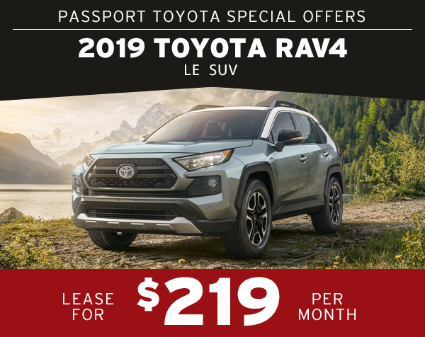 Lease The 2019 Toyota Rav4 For Only 219 Per Month 36 Months Click Here To View Inventory