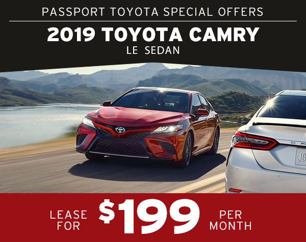 2019 Toyota Camry Passport Toyota Specials Suitland Md Page 4
