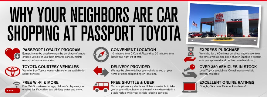 Passport Toyota | New and Used Toyota Dealership in Suitland, MD
