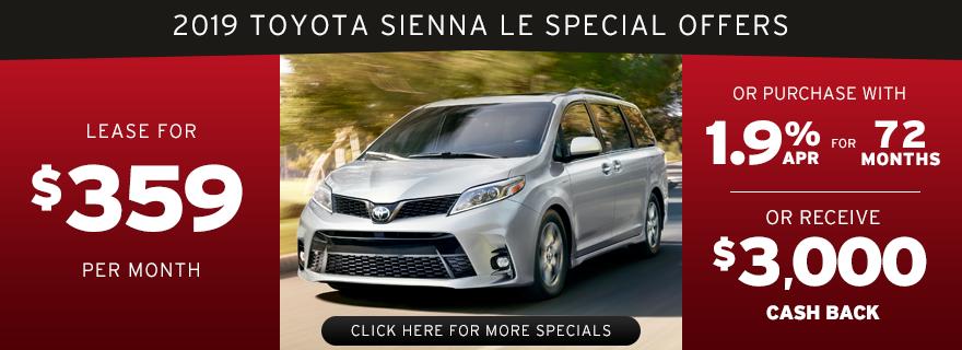 Pport Toyota Specials